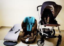 Mamas&papas stroller +Baby Bjorn seat +Juniors car seat