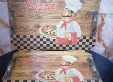 صواني بيتزا خشبيه