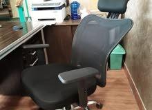 كرسي مدير شبك طبي خصوصا للديسك ضهر متحرك فقط ب 75دينار يتوفر توصيل