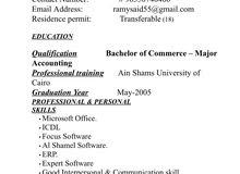 Seeking job opportunities As an accountant