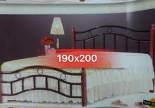 DOUBLE KING BED WITH MATRIX 190x200