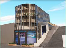 مجمع تجاري فارغ للبيع في مرج الحمام مساحة بناء 1200 م مساحة الارض 451 م