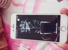 I phone 6s مستعمل حالة جيدة جدا معاه علبته وجميع متعلقاته الاصلية
