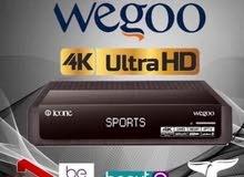 رسيفر ايكون الاسطورة . Wegoo 4K  ULtra UHD