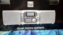 Dual micro system Stereo for sale..used once in original packaging