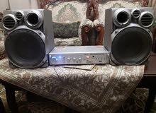 دي جي امبلفير مضخم صوت هندي مع سماعات مغير هندي 8 انش