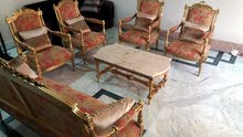 Antique vintage classic luxurious Egyptian handmade living Room Sofa Set for sal