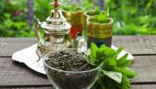 الشاي الأخضر المغربي