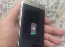 شاشة Galaxy s6 edge ذهبية اصلية مستعمله