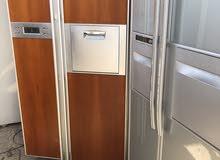 ثلاجات وارد كوري مستخدم كهرباء 220 فولت شرط الشغل باب واحد وبابين