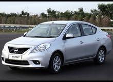 Nissan sunny 2014 نيسان صني للايجار