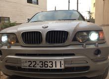 BMW x5  موديل 2001محوله 2007 فل الفل فحص كامل