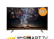 Samsung UA55RU7300 - 55 بوصة تلفزيون سمارت مقوس HDR 4K UHD