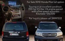 For Sale Honda Pilot full option 2012