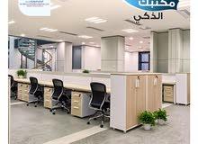 مكاتب ذكية للتمليك بالخوير موقع حيوي وممتاز علي شارع دوحة الادب للبيع مساحة 124م