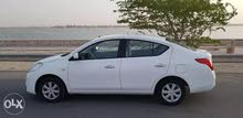 Nissan Sunny 2013 For Rent - White color