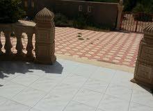 بيع او استبدال منزل وقطعة ارض في الحشان  طريق الزهراء