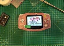 backlit Gameboy Advance
