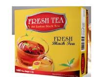 كراتين شاي للبيع بالجملة