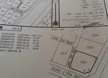 ارض سكنية خط اول كورنر في الملدة المصنعة
