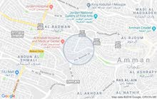 غرفه للإيجار بجبل عمان بالقرب من الدوار الثالث و مستشفى الخالدي