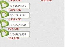 etisalat number  for sale