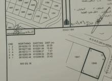للبيع ارض سكنية ممتازة في المعبيلة الثامنة حي الصمد كونر القطعة 1848