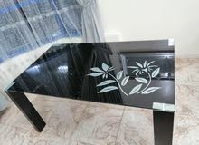 طاولة سفرة 6 مقاعد نظيفة جدا للبيع