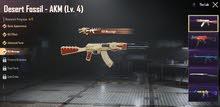 حساب ببجي (3 أسلحة رسالة قتل) للبيع