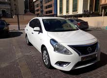 : نيسان صني  2016 ابيض ماشة - 105,000- Km كاش سعر - BD 2200 - WhatsApp No.::39170257