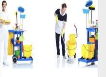 مطلوب عمال تنظيف
