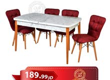 طاولة سفرة تركي + 6 كراسي