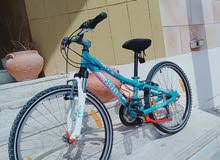 Scott 24in Mtb city bike blue color in great condition for sale Scott Full enh
