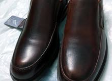 حذاء Duck مقاس42 جلد طبيعي فرش مريح نعل ممتاز