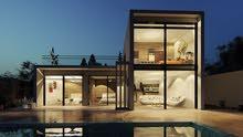 تصميم و عمل المناظير المعمارية 3D