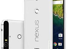 Google Nexus 6p جوجل نيكسس 32 جيجا الجهاز بحالة الجديد بطارية جديدة وكفر جديد