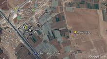 قطعة أرض مميزه شارع المطارالطنيب بجانب جامعة الاسراء  السكه الغربي