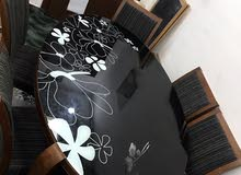 Dining Table (glass top) - Safat Home