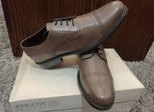 GEOX تشكيلة أحذية جلد طبيعي من أفخر الماركات/  صناعة الهند
