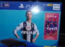 بلايستشن 4 PS4 SLIM الاوروبى 500 جيجا بايت اصدار الفيفا 2019  بالباكو