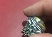 خاتم سليماني فضه قديم مصور
