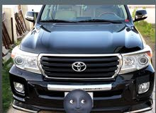 Toyota Land Cruiser 2013 For sale - Black color