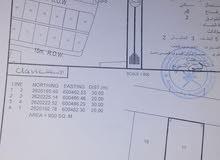 للبيع ارض سكنيه بولاية بركاء -الرميس شمال قريبه من الشارع البحري
