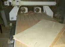 ماكينة راوتر cnc حفر و نقش و نحت و تفريغ اخشاب و معادن للشغل بالساعة