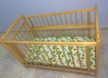 سرير اطفال مستخدم فترة بسيطة