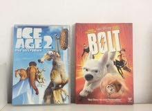 أشرطة أفلام (Bolt + Ice Age 2)