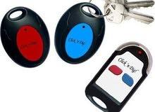 Click n Dig Key Finder.2Receivers.Wireless RF Item Locator Remote Control n more