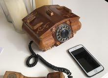 Antique Russian telephone handmade 1960