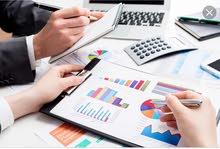 اعداد ميزانيات معتمدة للوزارة و البنوك و زيادة راس مال الشركات و دراسات الجدوى