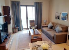 Luxury Sea view 1 Bedroom Furnished Apartment in Amwaj Island For Rent